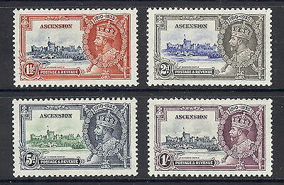Ascension Island 1935 Silver Jubilee Set of 4. SG 31 - 34. MLH