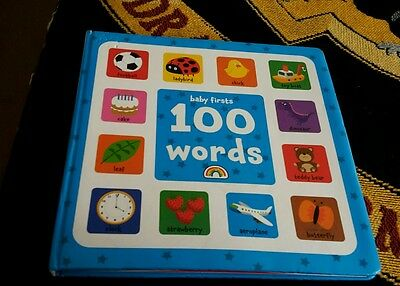 Baby's first 100 words book.