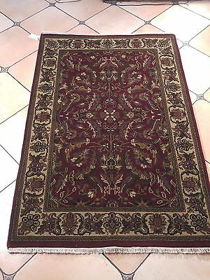 Hot Holiday Deal Vintage Hand Knotted Persian Kashan 4X6Ft Rug K20