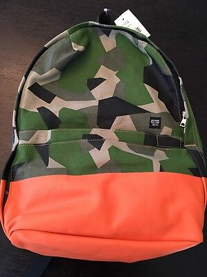 NWT Jack Spade For Gap Kids Collaboration Boy's Camo Backpack