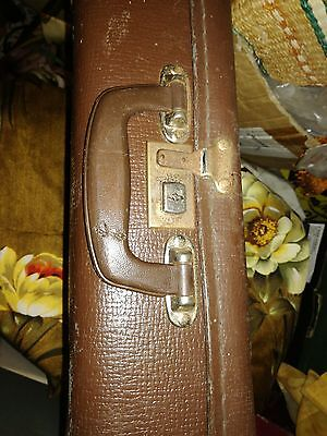 small brown vintage suitcase