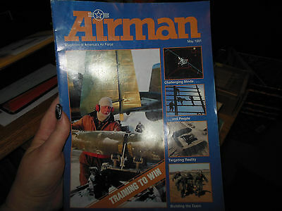 AIRMAN Magazine - 1991 May- official Mag of the Air Force