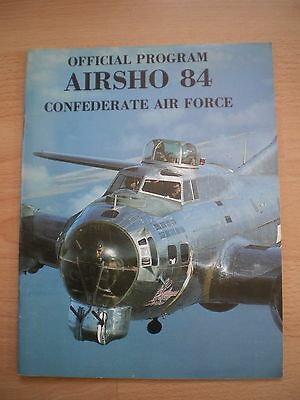 Airsho 84 Confederate Air Force Official Programme
