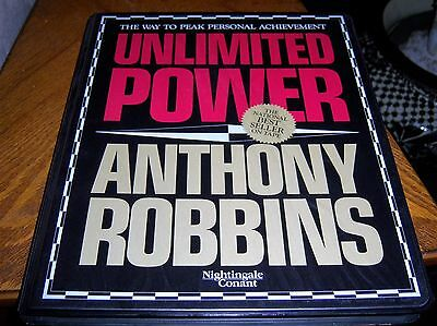 unlimited power anthony robbins 6 audio cassettes 1986 free shipping