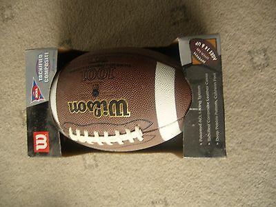 Willson Official size American Football - Trackified composite leather cover