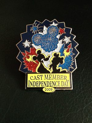Disney Cast Member Exclusive Independence Day 2009 Pin 71021 - LE 1750 - Mickey