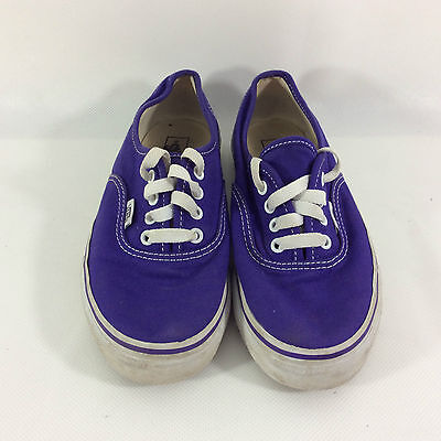 Purple Vans Trainers Unisex/Boys/Girls Size UK2 EU33