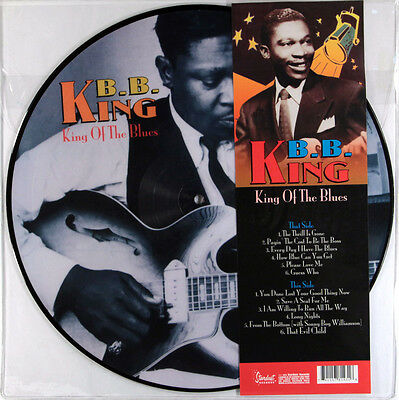 B.B. King - King Of The Blues (Limited Picture Disc Vinyl LP) New & Sealed