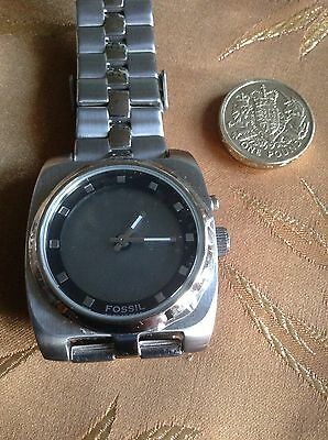 Men's Fossil BIG TIC Digital Stainless Steel Watch No BG-1045
