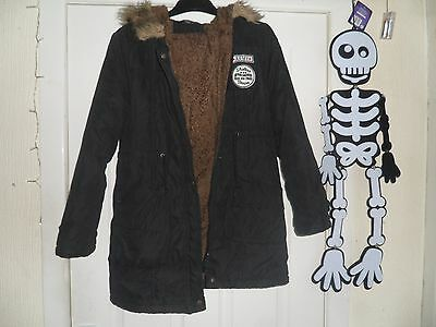 girls coat large approx age 11-12