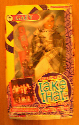 "TAKE THAT GARY BARLOW 12"" DOLL (BOXED with KEYRING)"
