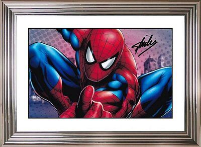 Ultra Cool - Spider-Man - Stan Lee - Original Hand Signed Autograph