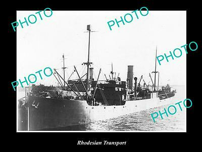 OLD LARGE HISTORIC MERCHANT SHIP PHOTO OF THE STEAMSHIP SS RHODESIAN T c1920s