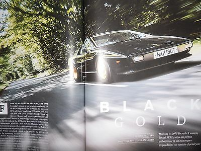 "Lotus Esprit S1 John Player Special Limited Edition ""EVO"" Road Test Magazine"
