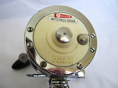 Vintage GARCIA MITCHELL 602A Sea Fishing Reel - Made in France