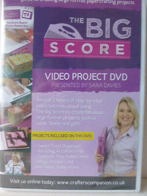 """Crafter's Companion """"The Big Score Project DVD""""."""