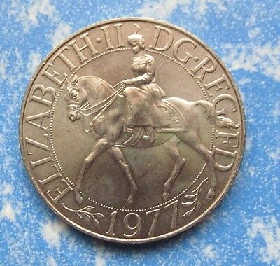 1 x 1977 Queens Silver Jubilee Crown Coin