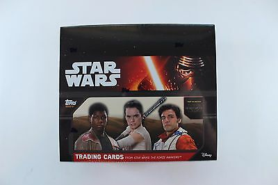 Topps Star Wars Force Awakens Series 1 Special Edition Hobby Box FACTORY SEALED!