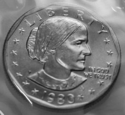1980-P Susan B. Anthony Dollar From Mint Set SBA
