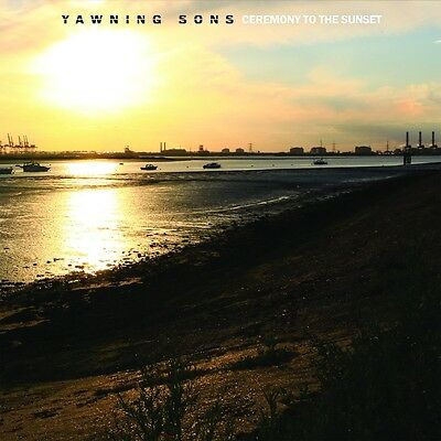 Yawning Sons Ceremony to the Sunset LP on Yellow Vinyl