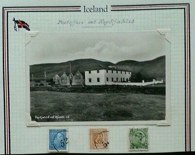 ICELAND Postal History Study: Early Post Office REYKJAHLID