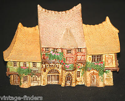 Alsatian Houses Post Office Bakery Coffee Shop Set of 3 by Michel Dupuy ~ France