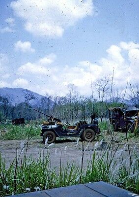 Vietnam Slide- Army GI w/2nd Batt 16th Inf 1ST INFANTRY DIVISION collection #51