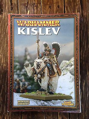 Warhammer Fantasy The Empire Kislev Army Book - Soft Cover