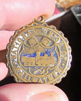 Small National Union Of Railwaymen Medallion