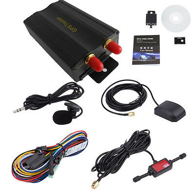TK103A Vehicle GPS GPRS Tracker Real Time Auto Ortung Diebstahlschutz SyStem DE