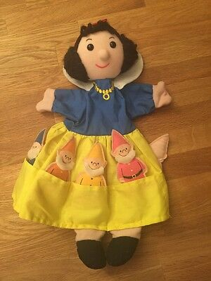 Snow White And The Seven Dwarves Finger Puppets From Fiesta Crafts