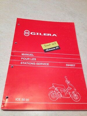Manuel Atelier revue technique Scooter ICE 50 service manual