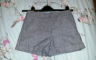 girls party winter shorts age 8-9