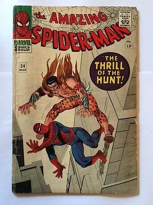 US Marvel Amazing Spiderman 34