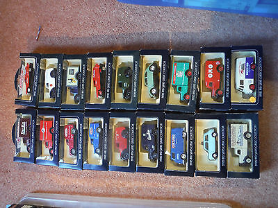 Lledo Vanguard 50's And 60's Collection Job Lot Diecast Boxed Models