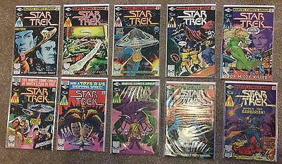 Complete Run Of Star Trek Marvel Comics All 18 Issues 1980-1982