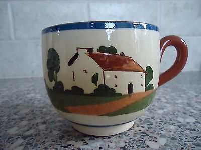 """Watcombe Devon Motto Ware Cup """"the Cup That Cheers But Not Inebriates"""