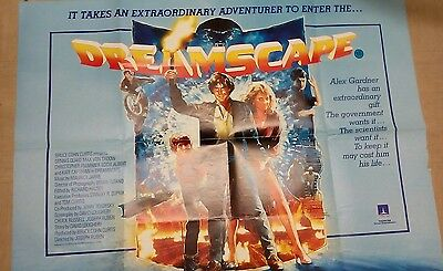 Dreamscape(1985)Original Quad Poster