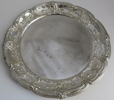 Leonard Silverplate Serving Platter               (Inv10343R)