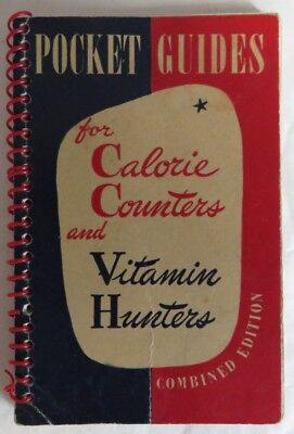 1948 Pocket Guide For Calorie Counters And Vitamin Hunters            (Inv12796)
