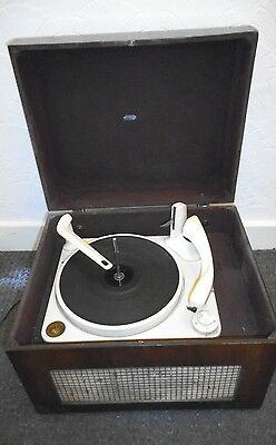 Vintage BSR Monarch Record Turntable, Peto Scott, in case