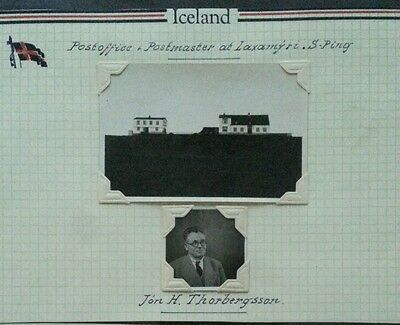 ICELAND Postal History Study: Early Post Office LAXAMYRI