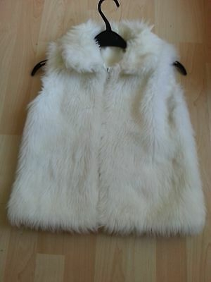Girls Faux Fur Body Warmer Age 9/10