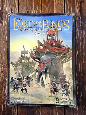 The Lord of the Rings  strategy battle game book harad