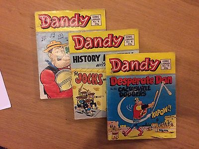Original Dandy Comic Library book Collection