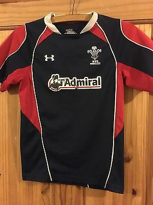 wru under armour Rugby Shirt