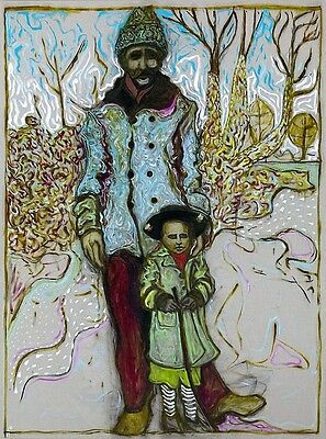 BiLLY CHildiSH *SiGNED* PRiNT 'Girl with Stick' Ltd Edition 93 /200