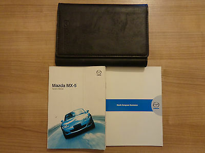 Mazda MX5 Owners Handbook/Manual and Wallet 02-05