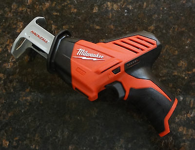 2 X  Milwaukee M12 Cordless Hackzall Reciprocating Saw,Tool-Only (2420-20)