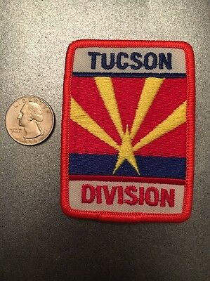 Tucson Division Embroidered Patch Arizona Az